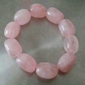 Jewelry - Women's Fashion Jewelry Pink Stone Beaded Bracelet